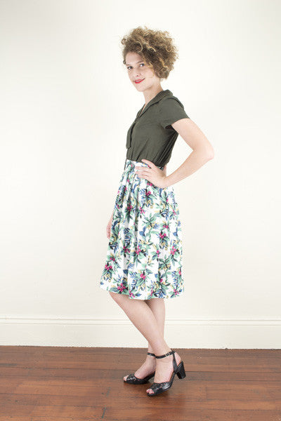 Stephanie Tropical Skirt Elise Design $89.00 Skirts