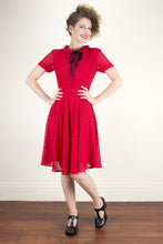 Load image into Gallery viewer, Mimi Red Dress - Elise Design