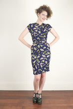 Load image into Gallery viewer, Kitty Navy Dress - Elise Design