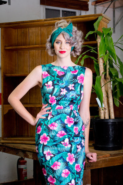 Simona Floral Dress - Elise Design