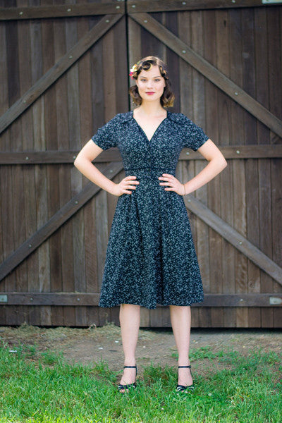 Ariel Polka Dots Dress