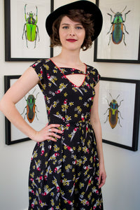 Ebony Parrot Dress