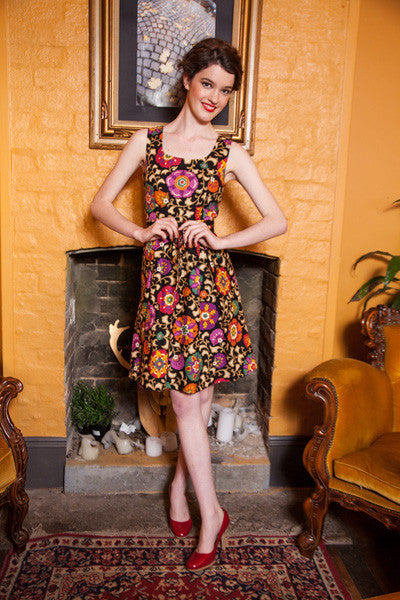 1960's Obi Dress - Elise Design