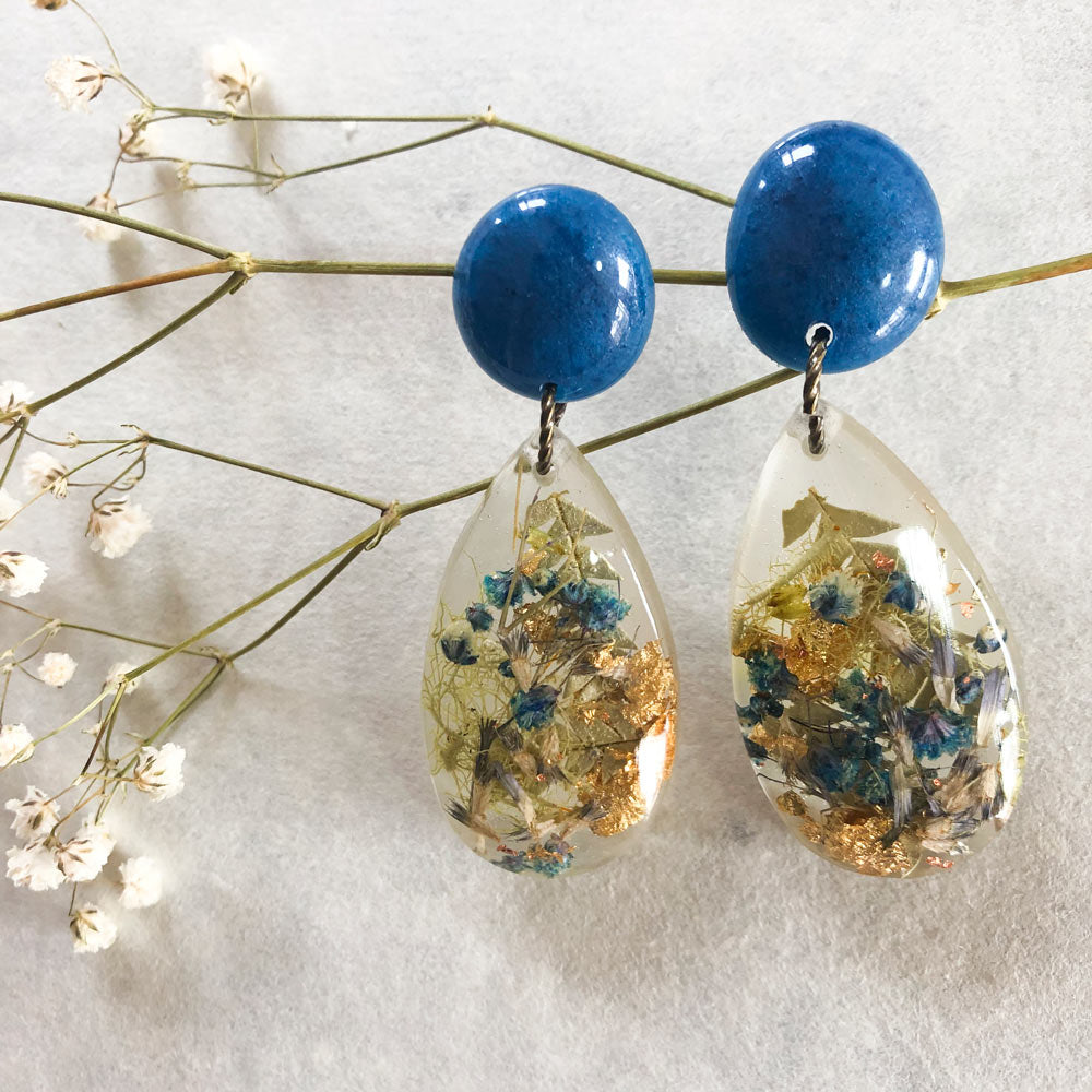 Metanical Fun Earrings - Blue