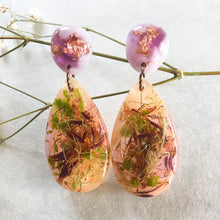 Load image into Gallery viewer, Metanical Fun Earrings - Lilac