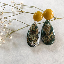 Load image into Gallery viewer, Metanical Fun Earrings - Mustard