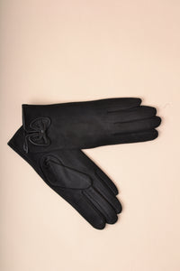 Bow Gloves - Black