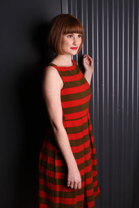 Candy Stripe Dress - Elise Design