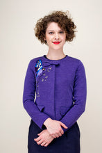 Load image into Gallery viewer, Imari Blue Jacket - Elise Design