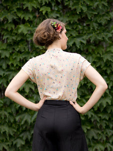 Marvellous Ice Cream Blouse - Elise Design