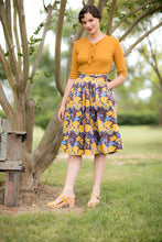 Load image into Gallery viewer, Ruby Brown & Mustard Skirt