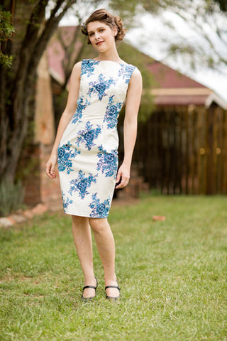 Sage Shift Dress - Elise Design  - 1
