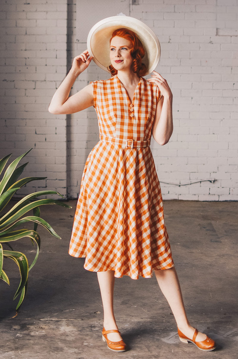 May Chequer Dress