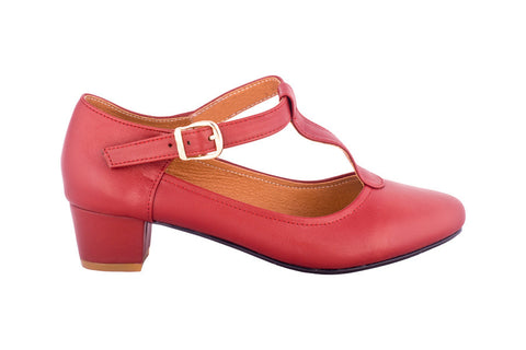 Miami Burgundy Elise Design $129.00 Heels