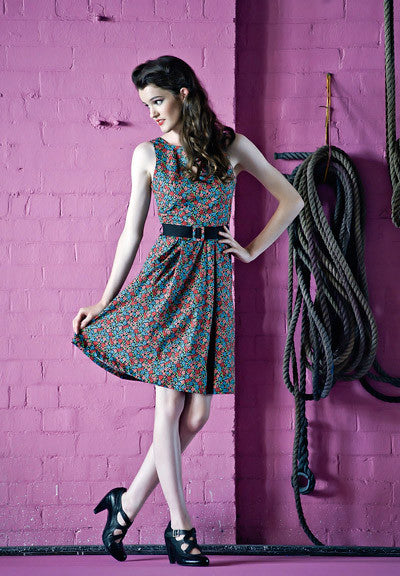 Multi-Floral Dress - Elise Design