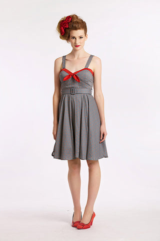 Colour Me In Grey Dress - Elise Design