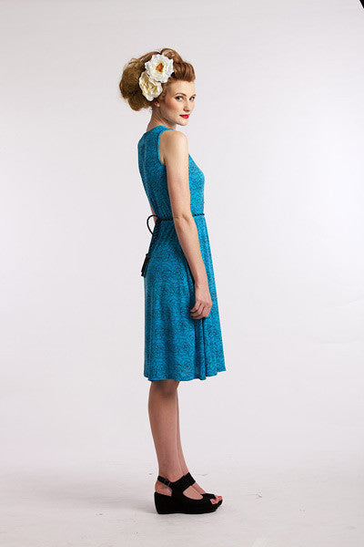 Blue Rose Jersey Elise Design $80.00 Dresses