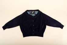 Load image into Gallery viewer, Peggy Cardigan Navy