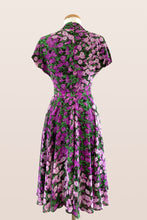 Load image into Gallery viewer, Pansy Lilac Floral Dress