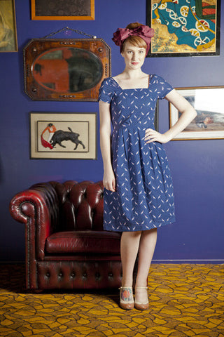 Birds Poetry Dress - Elise Design