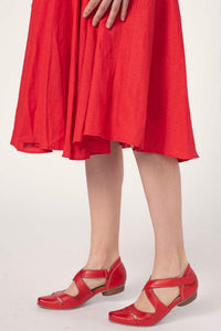 Sammy Red Linen Dress