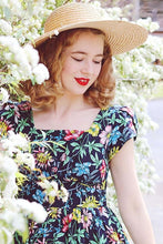 Load image into Gallery viewer, Siren Tropical Floral Dress