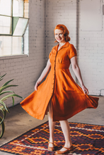 Load image into Gallery viewer, Loretta Rust Dress