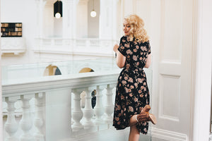 Jenna Daisy Floral Dress