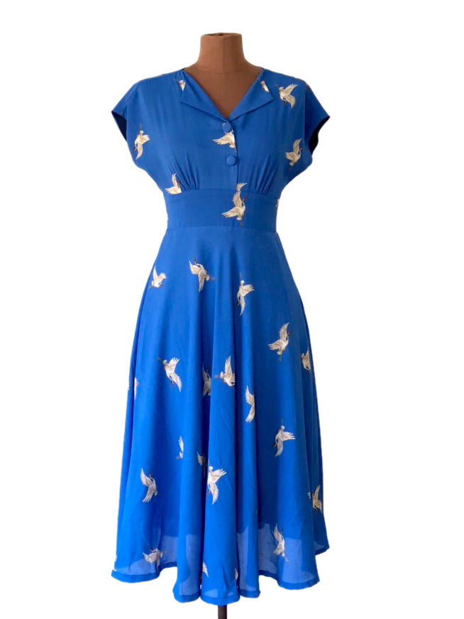 Dakota Cranes Dress