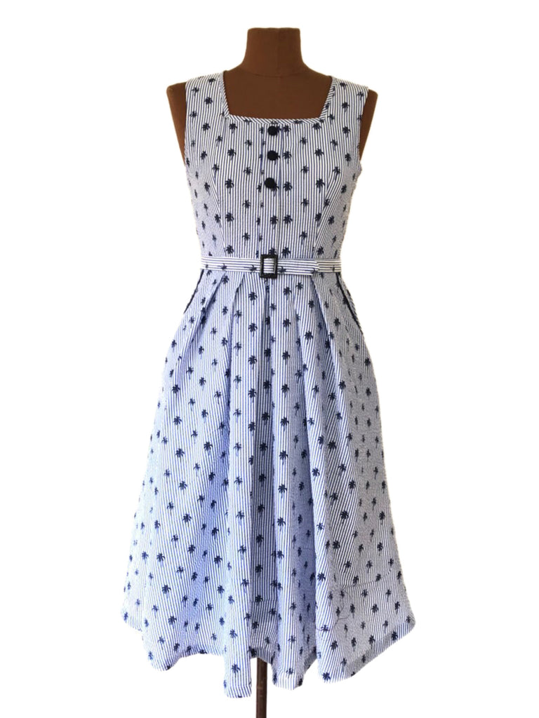 Myra Nautical Dress Elise Design $169.00 Dresses