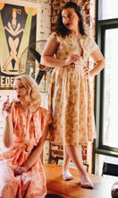 Load image into Gallery viewer, Dolores 50s Mustard & Beige Dress