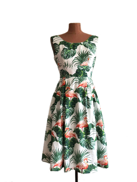 Cora Flamingo Dress Elise Design $175.00 Dresses