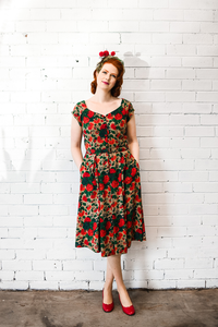 Tuscan Floral Dress