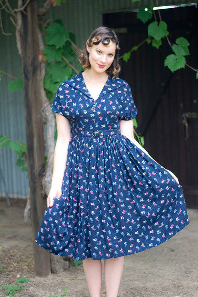 Mary Poppins Floral Dress Elise Design $175.00 Dresses