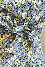 Load image into Gallery viewer, Astrid Blue & Yellow Floral Dress