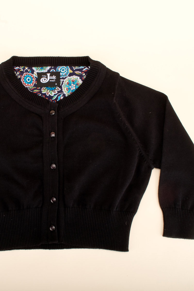 Peggy Cardigan Black