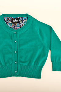 Peggy Cardigan Green