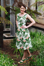 Load image into Gallery viewer, Cora Flamingo Dress