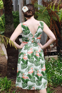 Cora Flamingo Dress