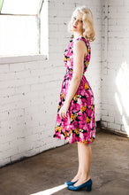 Load image into Gallery viewer, Dalena Pink Floral Dress