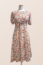 Load image into Gallery viewer, Chiffon Posie Dress Red Floral