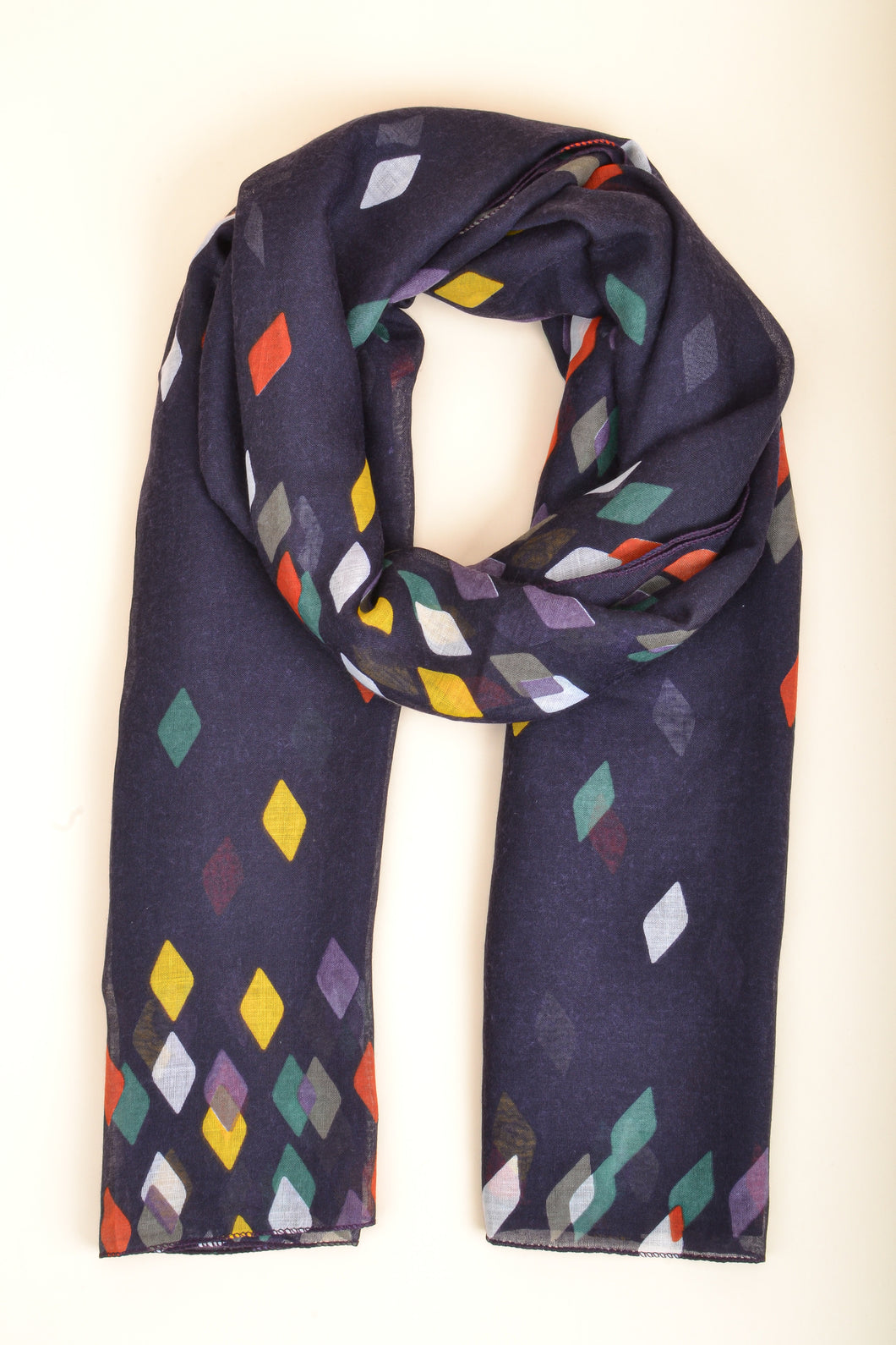 Purple Diamond Scarf