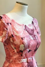 Load image into Gallery viewer, Laura Dusty Pink Floral Dress