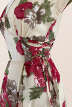 Load image into Gallery viewer, Floral Corset Dress