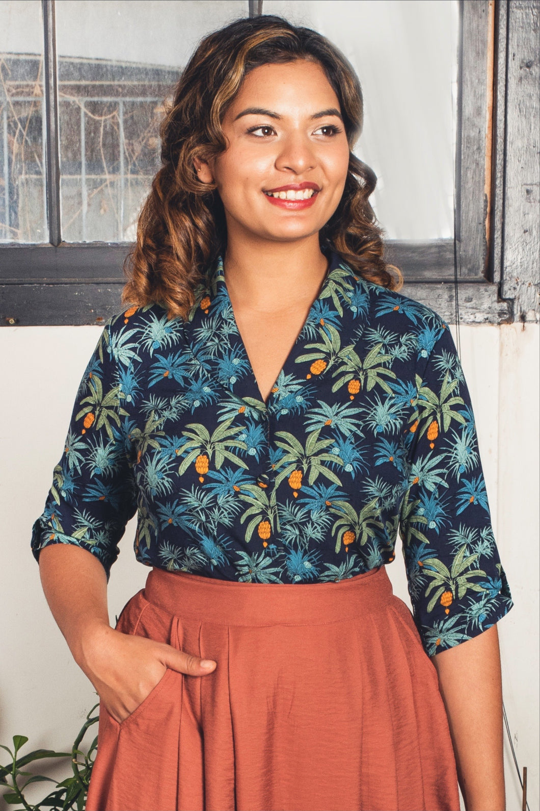 Fabulous Jungle Blouse
