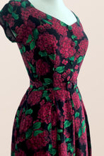 Load image into Gallery viewer, Tuscan Hydrangea Floral Dress
