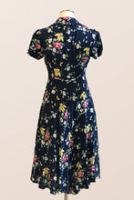 Load image into Gallery viewer, Harlow Navy Floral Dress