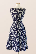 Load image into Gallery viewer, Bee Navy & White Floral Dress