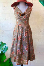 Load image into Gallery viewer, Stella Green Floral Dress