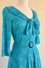 Load image into Gallery viewer, Lola Turquoise Dress
